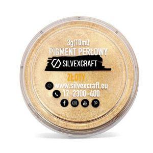 Pigment perlé - doré, 3 g