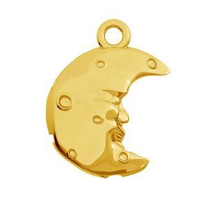 Lune pendentif, argent 925, ODL-00468