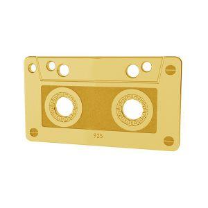 Cassette pendentif argent, LK-1431 - 0,50