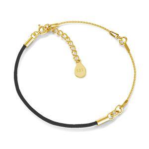 Bracelet base, argent 925, S-BRACELET 15