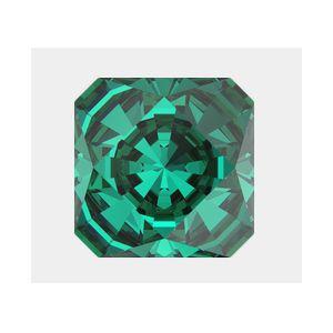 4499 MM 10,0 EMERALD F, Kaleidoscope Square Fancy Stone