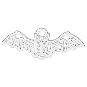 Chauve souris pendentif argent, LK-1560 - 0,50