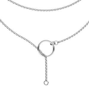Base de la chaîne pour bracelet, S-CHAIN 31 (ROLO 035)