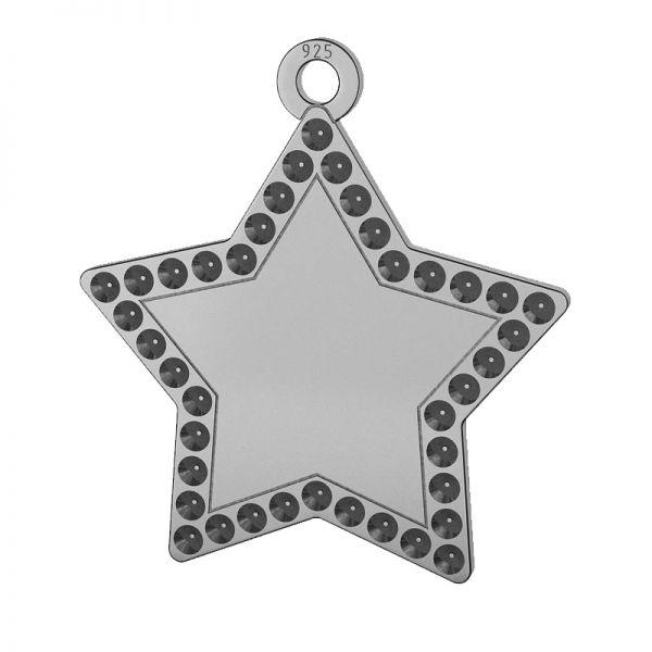 Etoile pendentif argent 925, LKM-2132 - 0,80 (1028 PP 4)