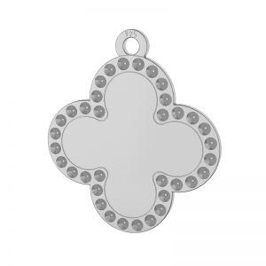 Trèfle pendentif argent 925, LKM-2134 - 0,80 (1028 PP 4)