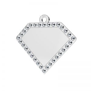 Diamant pendentif argent 925, LKM-2142 - 0,80 ver.2