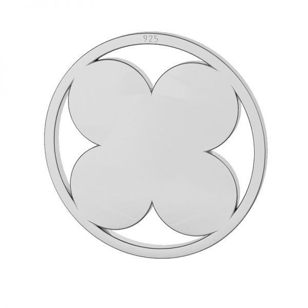 Trèfle pendentif argent, LKM-2127