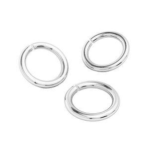 KC-0,80x3,00 - Argent anneaux ouverts