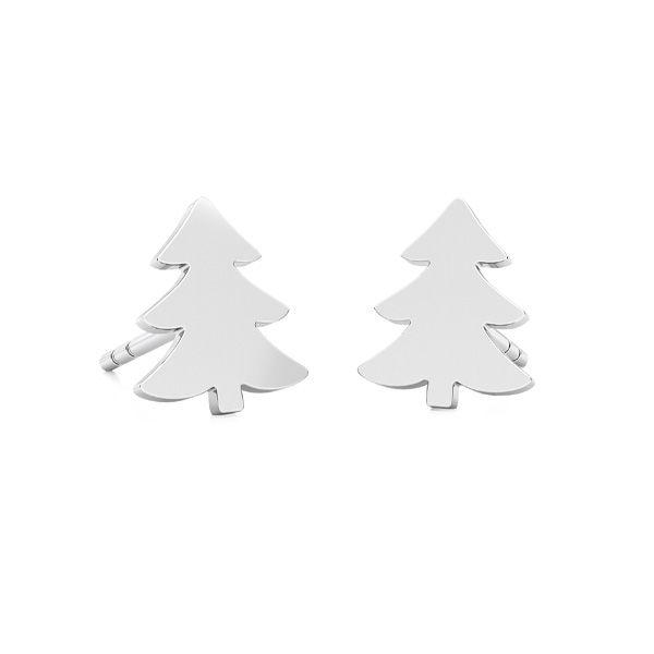 Arbre de Noël des boucles d'oreilles LKM-2242 - 0,50 KLS