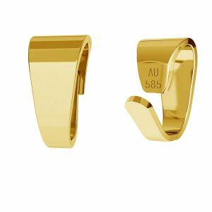 Attache pendentif or 14K or LKZ-50008 - 03