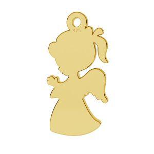 Enfant, fille pendentif, LKM-2247 - 0,50