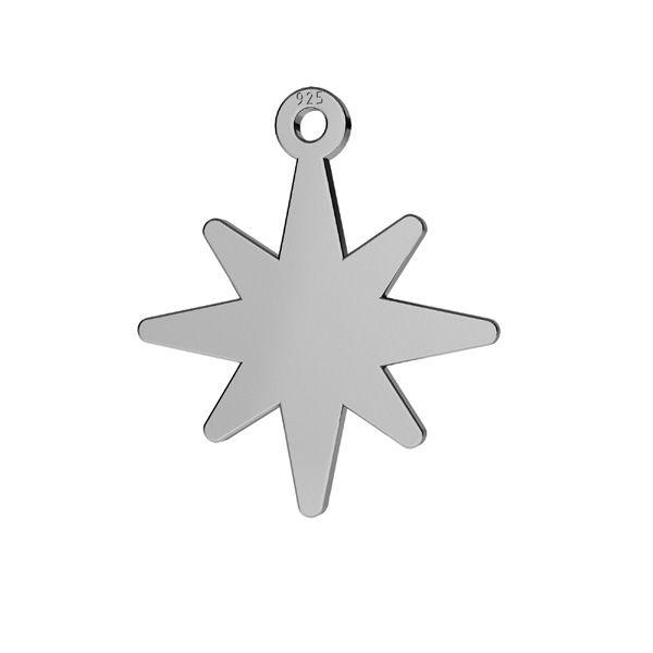 Star pendentif LKM-2252 - 0,50