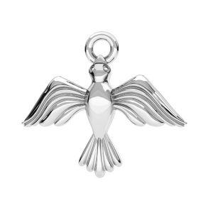 Pendentif oiseau argent, argent 925, ODL-00608