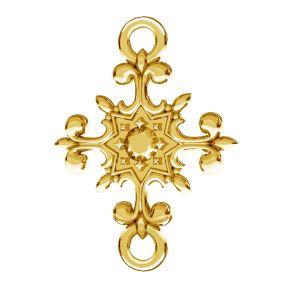 Crucifix pendentif, argent 925, ODL-00600