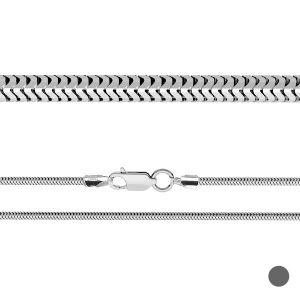 Chaîne serpent souple*argent 925*CSTD 2,4 (34 cm)