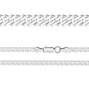 Chaine Rombo*argent 925*RD  60 (38 cm)