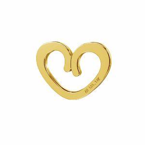Coeur pendentif or 14K or*LKZ-50009 - 03