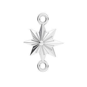 Star pendentif ODL-00638 12x17,1 mm