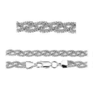 Coreana Bracelet chaîne*argent 925*PLE CORBD 1,8 3P (18 cm)