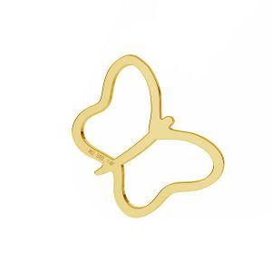 Papillon pendentif *or 585 14K*LKZ-50015 - 03