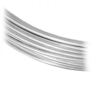 Fil de bijoux SILVER WIRE-H 1,2 mm