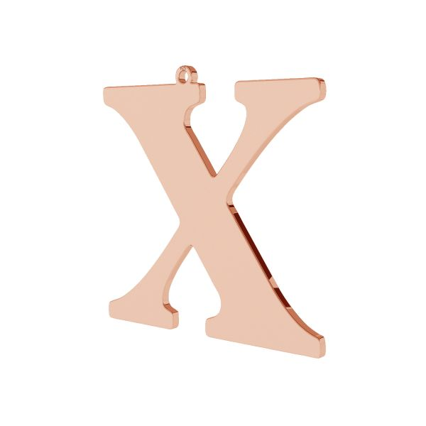 Pendentif - grande lettre X*argent 925*LKM-2511 - 0,60 38,3x39,5 mm