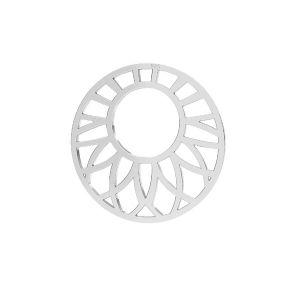 Ajouré pendentif argent 925, LKM-2289 - 0,50 20x20 mm