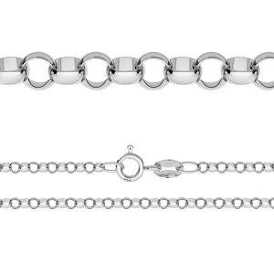 Chaine rolo*argent 925*ROLO 035 (40 cm)