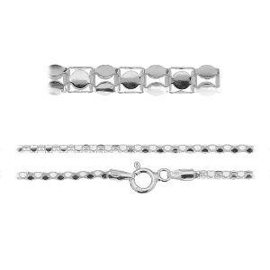 Chaine Bracelet maille coreana*argent 925*PLE CORP 1,8 3P (19 cm)