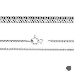 Chaîne serpent souple*argent 925*CSTD 1,6 (40 cm)
