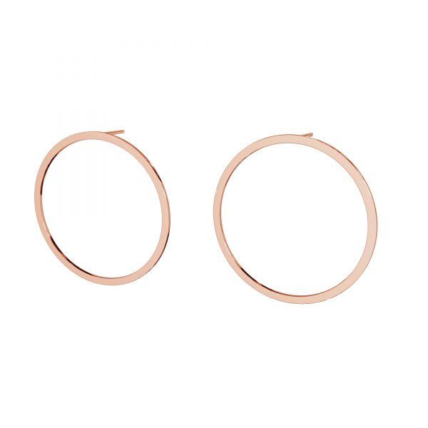 Cercle boucles d'oreilles, argent 925, LK-2575 KLS - 0,50 35 mm