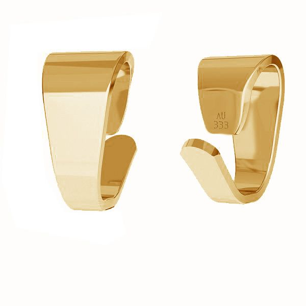 Attache pendentif*or 333*KR LKZ8K-30012 - 0,30 2,5x5 mm