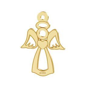 Ange pendentif*or 333*LKZ8K-30016 - 0,30 13x18,5 mm