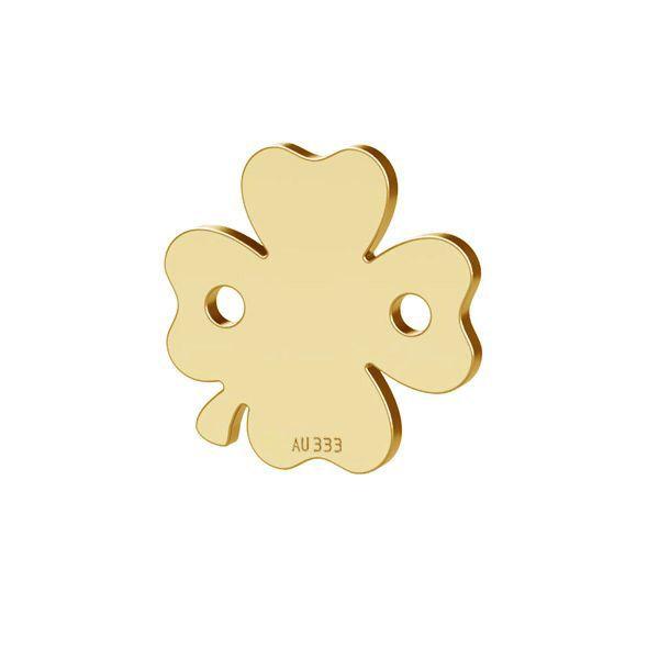 Trèfle pendentif*or 333*LKZ8K-30023 - 0,30 10x10 mm