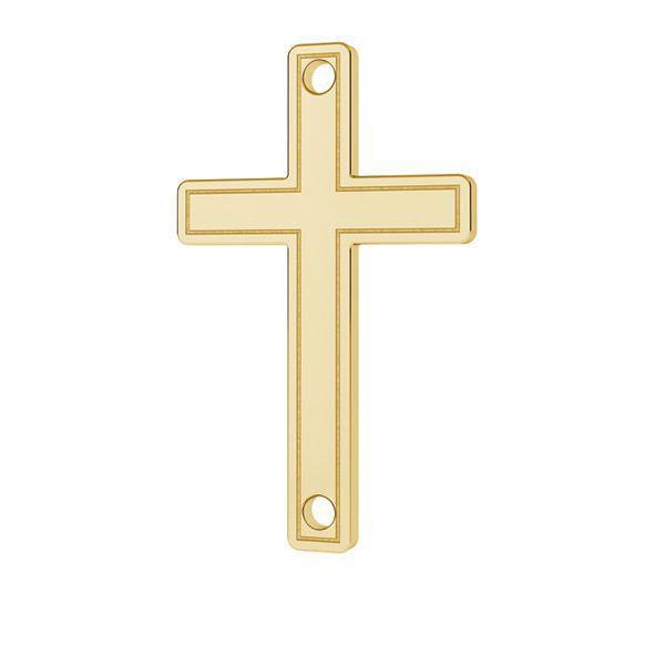 Crucifix pendentif or 14K or LKZ-00028 - 0,30 mm