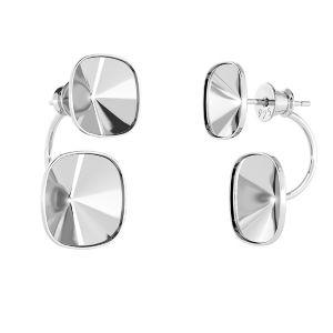 Boucles d'oreilles battantes OKSV 4470 SWING 10x24,5 mm (4470 MM 10,0)