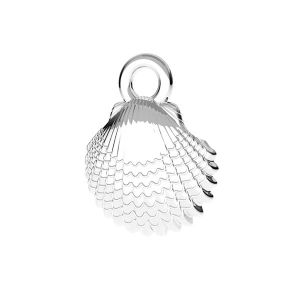 Coquille pendentif*argent 925*ODL-00752 8,5x11 mm
