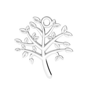 Arbre de la vie pendentif argent 925, ODL-00764 21,5x21,5 mm