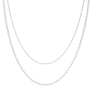 Collier base silver 925, CHAIN 46 (A 030 / A 050)