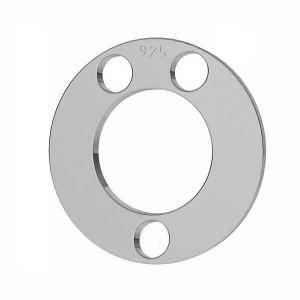 Rond pendentif argent, LKM-2892 - 0,80 5x5 mm