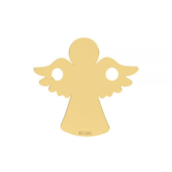 Ange pendentif*or 585*LKZ14K-50095 - 0,30 13x13 mm