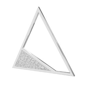 Triangle pendentif argent, LKM-2746 - 0,50 17,4x20 mm