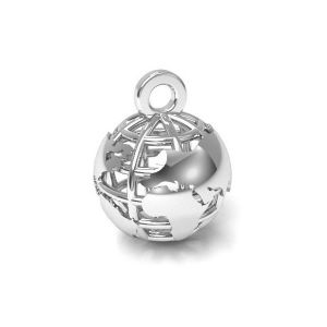 Pendentif aile d'ange - CON 2 ODL-00162 6,5x24,5 mm