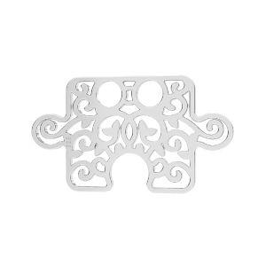 Puzzle pendentif*argent 925*LKM-2639 - 0,50 11x19 mm