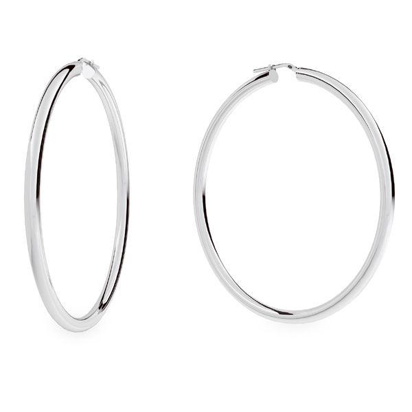 Boucles d'oreilles créoles 7,0 cm KL-180