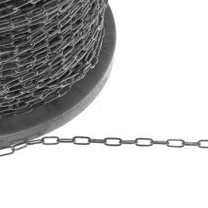 Ancre chaîne en argent sterling en mètres (chaîne non polie)*argent 925*AFLK 1,00 3,9x8,6 mm