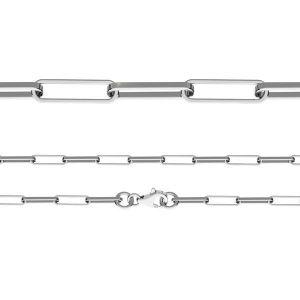 Bracelet maille d'ancre, taille diamant*argent 925*FIO 100 19 cm