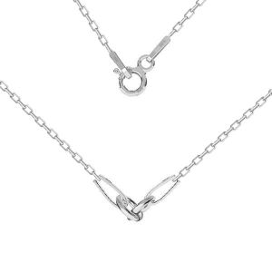 Base de la chaîne pour bracelet, CHAIN 52 A 030 PL 2,0 42 cm