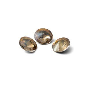 Tour cristal 8mm, RIVOLI 8 MM GAVBARI IRIDESCENT GOLD