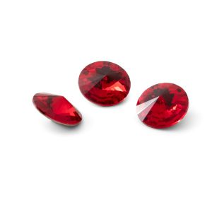 Tour cristal 10mm, RIVOLI 10 MM GAVBARI LIGHT RED